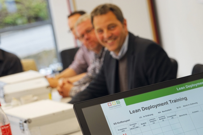 Lean Deployment training: lead time, quality, productivity...